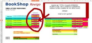Scarica il File e Ricevi le Istruzioni su come sapere QUANTO RISPARMI con il Sistema BookShopRO sui Libri Usati a Rovigo!