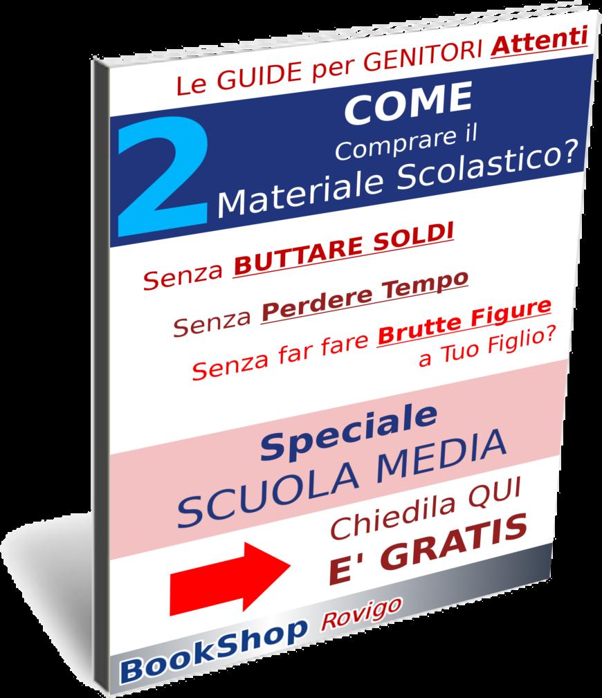 Come comprare il materiale per la Scuola Media a Rovigo? TE lo spiega Alessandro della cartolibreria BookShop Rovigo