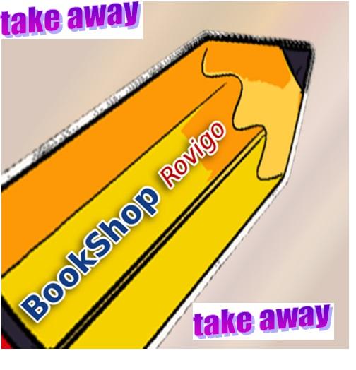 ARRIVA FINALMENTE LA CARTOLERIA BOOKSHOP TAKE AWAY